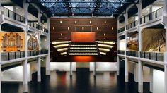 Uraufführung des weltweit ersten Orgel-Oktetts via Satellit