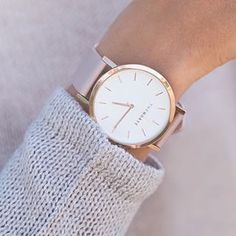 the horse watch - rose gold and blush