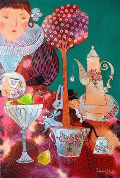 Бесконечное чаепитие (Алиса в стране Чудес)