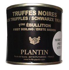 Plantin - Genuine Black truffle Tuber Melanosporum 50g tin (1.76oz) Pieces Check out the image by visiting the link.