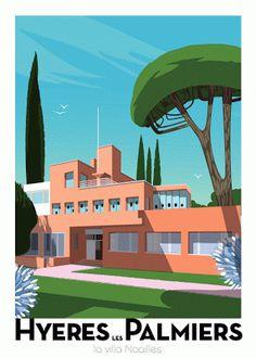 Villa Noailles. Architect: Robert Mallet-Stevens ( 1923 )