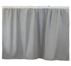 Bed Skirt Panel - Solid Gray – Dorm-Decor
