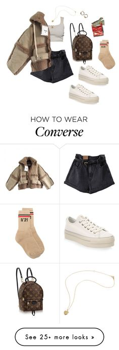 """kinda chilly"" by denisedugal on Polyvore featuring Converse, Acne Studios and N°21"