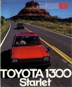TOYOTA 1300 STARLET