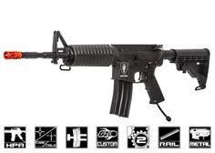 """Airsoft GI Custom Full Metal Elite Force """"Jacked"""" KMP HPA Airsoft Gun"""