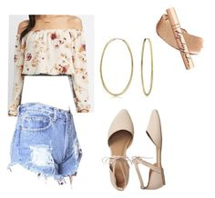 """""""Spring Break Beige"""" by mdomo on Polyvore featuring Charlotte Russe, WithChic, Gap, Charlotte Tilbury and Bling Jewelry"""