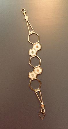 Miyuki Brickstich Hexagone