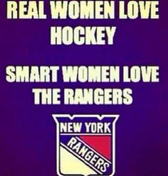 Until we meet again in the next season ~ NY Rangers!!!