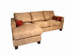 Enchanting Small Sectional Sofa and its Popular Brands: Excellent Brown Small Sectional Sofa With Caise ~ dickoatts.com Sofas Inspiration