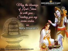 Om Namah Shivay! May the blessings of Lord Shiva remain with you throughout your life. Happy Maha Shivratri, 2018!!! #HappyMahaShivratri