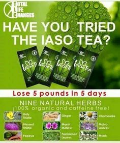 Total Life Changes.......Changes Lives Based on my findings, Iaso Tea has been clinically proven to: Cleansing the Colon, Kidney, Liver and Lungs Removes parasites such as worms and flukes from the colon Sheds unwanted pounds and fat Great for irregularity and constipation for seniors, adults and small children To Check Out These Fantastic Products And More, You Will Find Them Here: http://www.totallifechanges.com/2954971