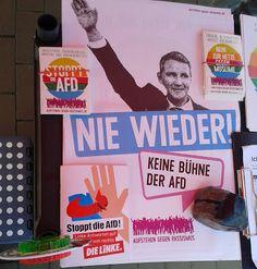 Ma(h)lt sich in diesem Kopf die Welt: Ludwigshafen Gegen die AfD Aufstehen gegen Rassismus