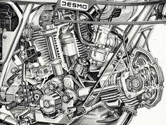 Ducati bevel drive Desmodromic Ducati Desmo, Ducati 750, Ducati Motorcycles, Vintage Motorcycles, Motorcycle Mechanic, Motorcycle Logo, Motorcycle Wiring, Ducati Classic, Classic Bikes