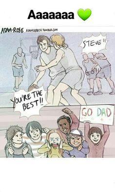 Go Dad...i mean...Go Mom...umm...i mean...GO STEVE GO!!!  #StrangerThings #StrangerThings2 ❤❤❤