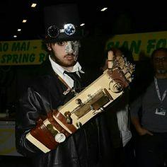 #steampunk #woodenarm #ItalianSteamer #italiansteampunk #WoodenArmMan