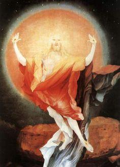 Mathias Grünewald: Del Altar de Issenheim (detalle): Las explicaciones sobran. Aquí impera la imagen, que habla por sí sola.