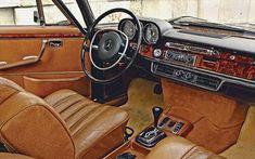 1971 Mercedes Benz 300 SEL 6.3 interior