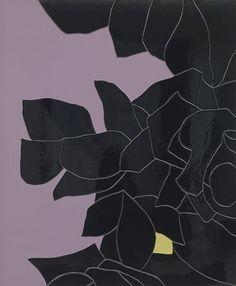 Gary Hume Black Flower 2014
