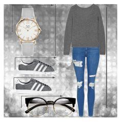 """""""I'm trying quit you s"""" by amygirl49 ❤ liked on Polyvore featuring Topshop, Equipment and adidas Originals"""
