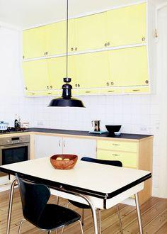 Myne Søe-Pedersens køkken ser ud, som om det har været der altid, men det er kun…