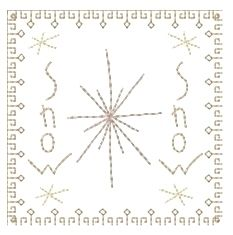 Christmas Squares 4x4 Set   Primitive   Machine Embroidery Designs   SWAKembroidery.com Homeberries Designs