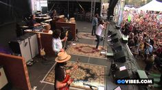"""The Black Crowes performs """"Sting Me"""" at Gathering of the Vibes Music Fes..."""