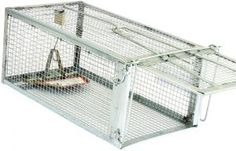 Rat Trap Cage Small Animal Humane Live Cages Mouse Traps Safe For Kids And Pets for sale online