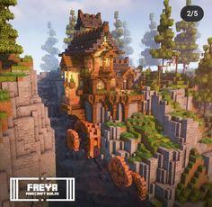 Minecraft Farm, Minecraft Castle, Minecraft Projects, Minecraft Crafts, Minecraft Designs, Minecraft Buildings, Minecraft Ideas, Minecraft Pictures, Windmill