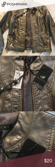😍😍Dress jacket💥💥 🎉🎉New Brushed silver tone🎉🎉 Baccini Jackets & Coats Blazers