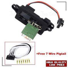 awesome hvac blower motor resistor w wiring harness for buick awesome hvac blower motor resistor w wiring harness for 04 07 buick rainier 89019100