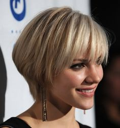Love this but would like it just a bit shorter and neater...but love the wedge shape!