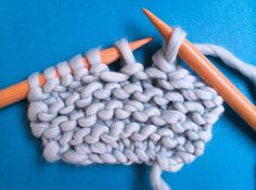 Learn how to bind off knitting and yarn over