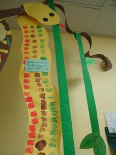 Cute idea for a large group. Split up and each group researches an animal to create and write about.