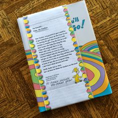 The Ultimate Graduation Gift! Oh, The Places You'll Go! with a personal touch!