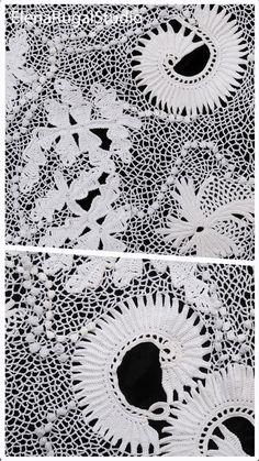 Crochet Flower Patterns, Crochet Motif, Crochet Flowers, Crochet Hooks, Irish Lace, Flower Tutorial, Irish Crochet, Flower Making, Simple Designs