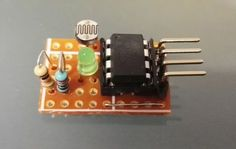 ATtiny85 as light sensor with I2C bus