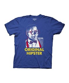Royal Blue Urkel 'Original Hipster' Tee
