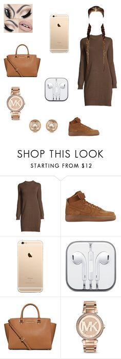 """Untitled"" by dajahknox ❤ liked on Polyvore featuring NIKE, MICHAEL Michael Kors and Michael Kors"