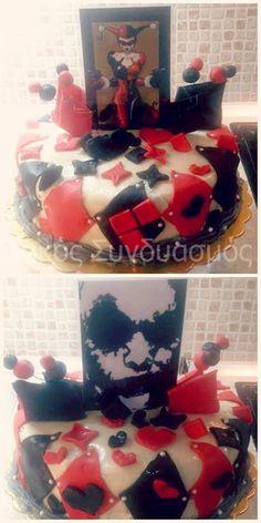 Harley Quinn & Joker cake