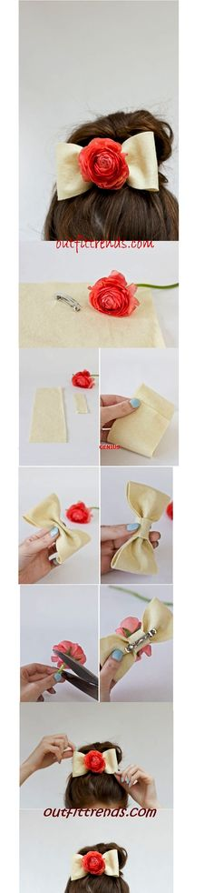 10 Amazing DIY Hair Accessories with Simple Tutorials