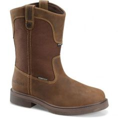 CA5030 Carolina Men's WP INS Smooth Sole Work Boots - Brown www.bootbay.com