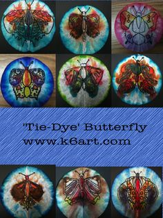 Science- Bug/Insect Unit-Tie dye butterfly using watercolor markers and a coffee filter.  Great art projectto go along with an insect/spring project