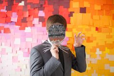 The House That Lars Built.: Pixelated post-its photobooth