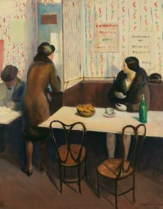 Canadian Artists, American Artists, Cabaret, Art Cafe, Whitney Museum, New York, Artist Painting, Cool Artwork, Art History