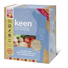 The Honest Kitchen Keen Dehydrated Dog Food, 10-Pound - http://www.thepuppy.org/the-honest-kitchen-keen-dehydrated-dog-food-10-pound/