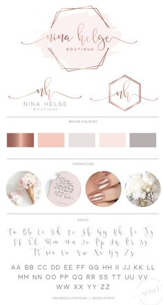 Hexagon Event Logo Watercolor Logo Design Rose Gold Logo - Hexagon Event Logo Watercolor Logo Design Rose Gold Logo Branding Kit Calligraphy Branding Pac More Information Find This Pin And More On Products By Etsy Watercolor Logo, Watercolor Design, Logo Hexagone, Logo Inspiration, Logo Instagram, Hexagon Logo, Hexagon Shape, Plakat Design, Event Logo