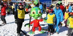 Im #Skiurlaub sollen Kinder die bestmögliche Betreuung erhalten und den größtmöglichen Spaß dabei haben. Der Spacy Snowplanet garantiert genau das! Skiing, Learning, Ski Trips, Renting, Ski, Studying, Teaching, Onderwijs