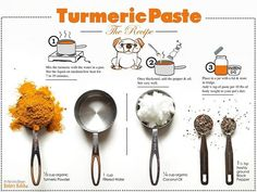 Try The Golden Paste Recipe For Your Dog Many experts agree that Turmeric works well when mixed black pepper. A combination of healthy good oils, turmeric and pepper is the key in the golden paste recipe. This amazing recipe can be easily added into yo Dog Recipes, Raw Food Recipes, Coconut Recipes, Recipies, Turmeric Paste, Tumeric Paste For Dogs, Turmeric Root, Organic Turmeric, Tumeric Paste Recipe
