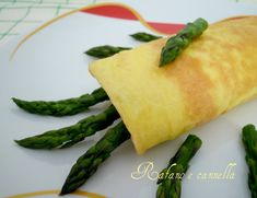 Omelette agli asparagi