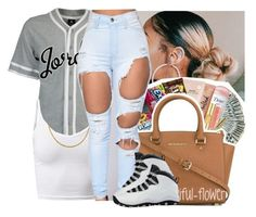 """""""Untitled #412"""" by theylovinniaaa ❤ liked on Polyvore featuring NIKE"""